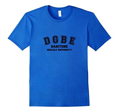 Men's DGBE Baritone Ukulele University Small Royal Blue