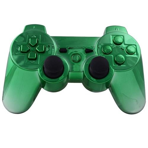 ps3 controllers green - 6