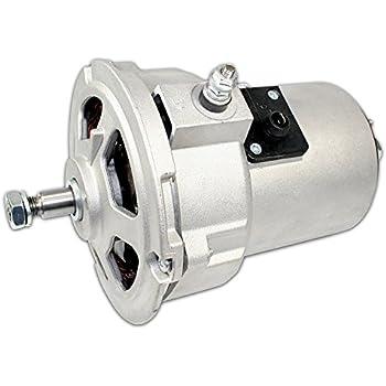 41r8ecZzTEL._SL500_AC_SS350_ amazon com empi 9453 7 chrome 75 amp alternator vw dune buggy bug