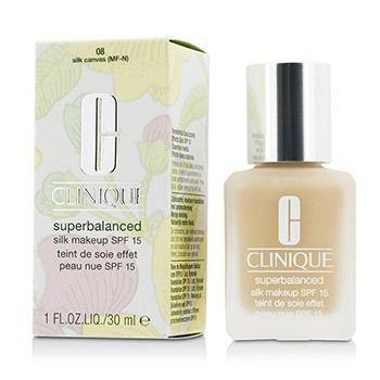 Clinique Superbalanced Silk Makeup Foundation SPF 15, 1 oz / 30 ml, 08 Silk Canvas (MF-N)