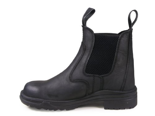 UK Boots Toe New 9 Steel Horse Real Dressage Riding Leather All Equestrian Black Jodhpur Showing Jodphur Sizes gZcg7yA