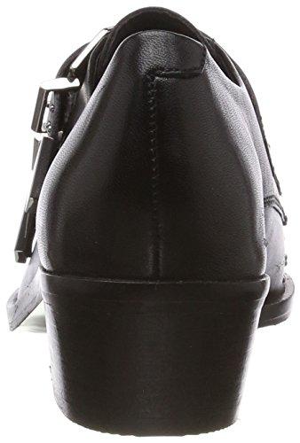 Richelieus Femmes chunky 8 noir Noir Noir 01 Tex 5 Bronx Uk Les OBnw6xn