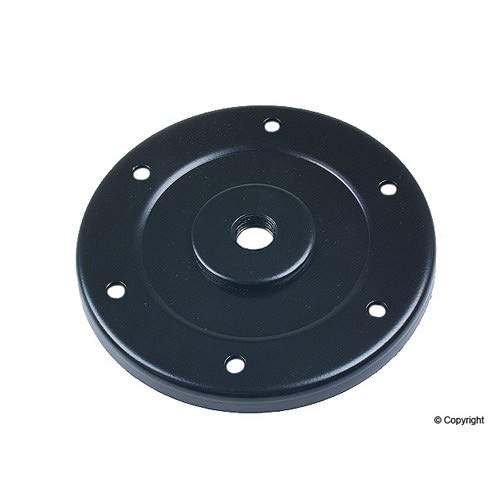 Oil Drain Plate - Empi Oil Drain Cover Sump Plate W/Hole Vw, Bug, Beetle 98-1168-B 113 115 181A