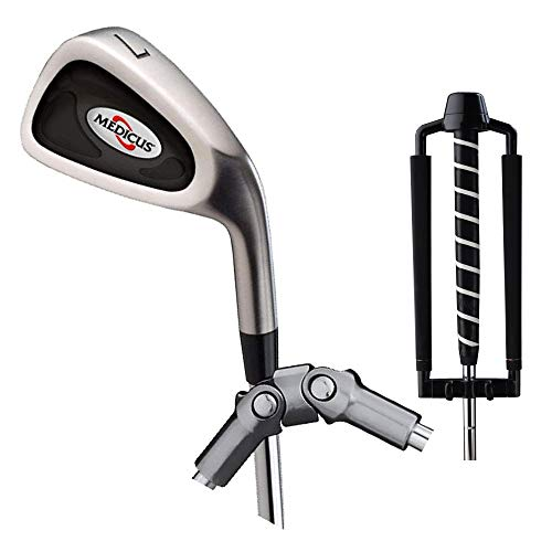Medicus Dual Hinge 7 Iron with Dual Hinge Putter – Swing Correcting Training Package