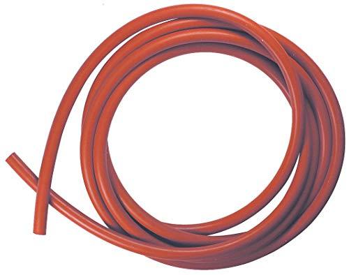Rubber Cord, Silicone, 1/8 In Dia, 10 Ft