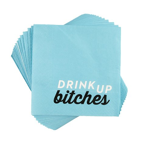 Drink Up Bitches (Pack of 4) by Cakewalk