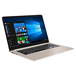 Asus VivoBook S15 S510UN-BQ151T(8th Gen Intel Core i78550UProcessor/8GB DDR4/1TB HDD/15.6-inchFHD/NVIDIA GeForce MX150-2GB DDR5/WIN 10Home/Gold)