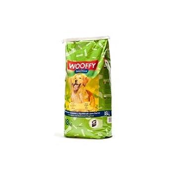 Pienso para perro Wooffy Sensitive 18 kg. Pienso Hipoalergénico: Amazon.es: Productos para mascotas