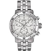 Tissot PRS 200 Chronograph Silver Dial Mens Watch T067.417.11.031.01