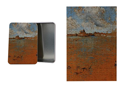 Venetian Scene (Whistler) Metal Tin Trinket Box (4