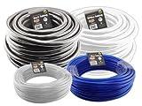 Hydro Flow Vinyl Tubing Black 3/4in ID 1in OD 100ft Roll 708245