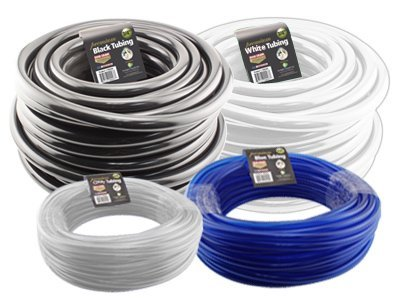 Hydro Flow Vinyl Tubing Black 3/4in ID 1in OD 100ft Roll 708245 by Hydro (Image #1)