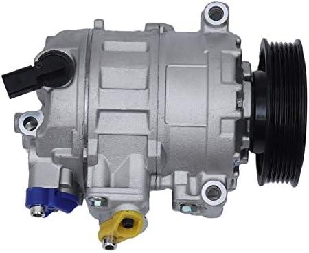Yogasada Compresor de Aire Acondicionado para 06-13 Jetta Passat A3 2.0L CC UAC AC A/C compresor