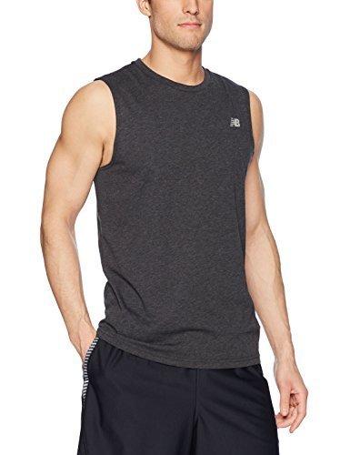 UPC 191264395312, New Balance Men's Heather Tech Sleeveless Shirt, Pigment, X-Large