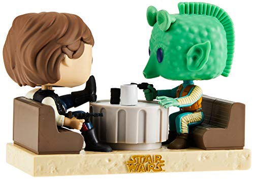 Figuras Pop! Star Wars Han Solo & Greedo Cantina Exclusive