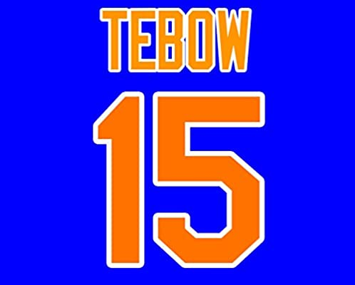 sale retailer 0c2b0 4088d Tim Tebow New York Mets Jersey Number Kit, Authentic Away ...
