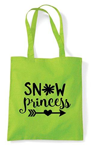 Shopper Tote Statement Bag Snow Lime Princess IA7Sq0xn