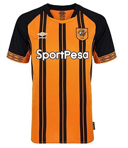 Umbro 2018-2019 Hull City Home Football Soccer T-Shirt - Umbro Soccer T-shirt