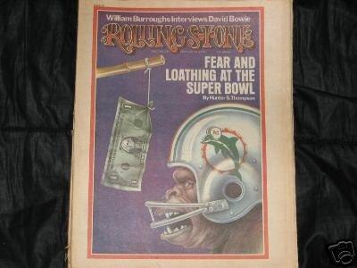 1974 Magazine (ROLLING STONE MAGAZINE # 155---FEBRUARY 28TH, 1974)