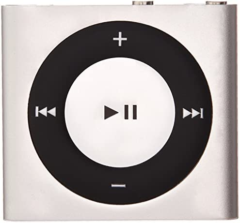 Apple iPod Shuffle 2GB (4th Generation) (Silver) (Renewed)