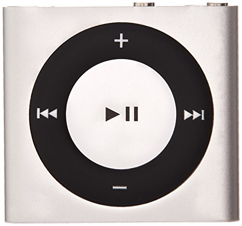 Apple iPod Shuffle 2GB (4th Generation) (Silver) (Renewed)
