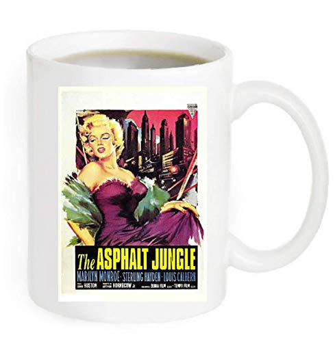 - The Asphalt Jungle Movie Poster Coffee Mug By Ariel's Collection #A342