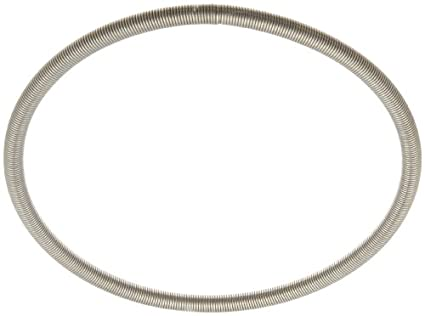 Interlock Strumpfband Frühjahr, 302 Edelstahl, Zoll, 0,6 cm OD, 0,1 ...