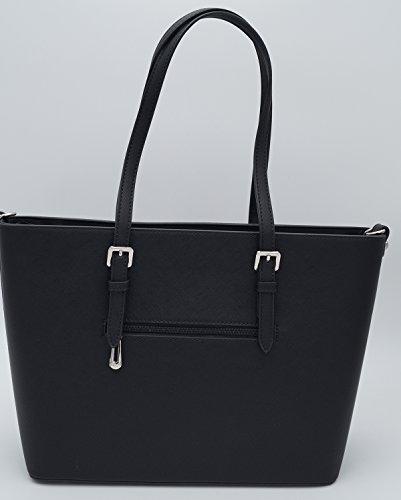 L Paris à Sac femme l'épaule amp;Co à porter F9126 Noir pour Flora U6w7HUq