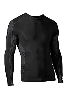 McDavid 8800 Performance Compression Shirt (Black, Large)