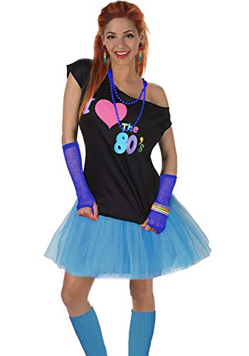 Women's I Love The 80's T-Shirt 80s Outfit ()
