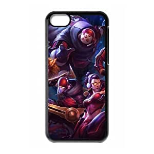 iPhone 5c Cell Phone Case Black League of Legends SKT T1 Jax KP2059782