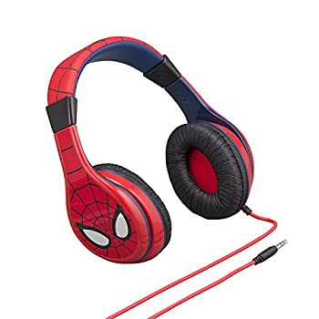 Spiderman Headphones For Kids With Built In Volume Limiting Feature For Kid Friendly Safe Listening 1