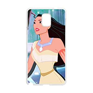 Pocahontas White Phone Case For Samsung Galaxy Note 4