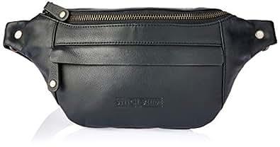 Stitch & Hide Women's Bailey hip bag Satchels, Black, One Size