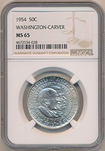 1954 P Half Dollar Washington Carver MS65 NGC ()