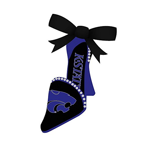 Kansas State Wildcats Holiday Ornament - Kansas State Wildcats Official NCAA 3 inch x 1.5 inch Team Shoe Christmas Ornament