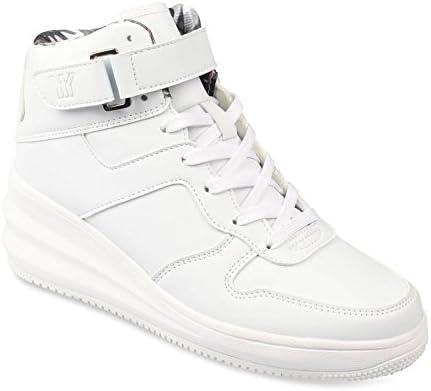 UNYK Baskets Blanc Femme Chaussea: : Chaussures et Sacs
