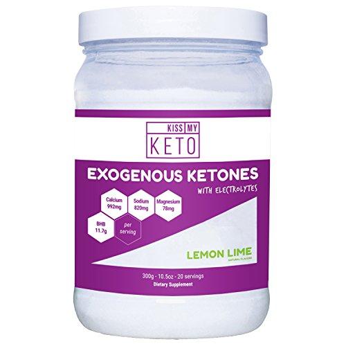 Kiss My Keto Exogenous Ketones BHB & Electrolytes, Lemon Lim