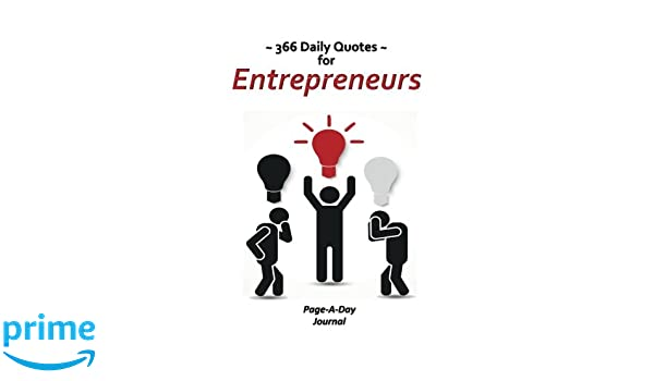 daily quotes for entrepreneurs page a day journal catherine