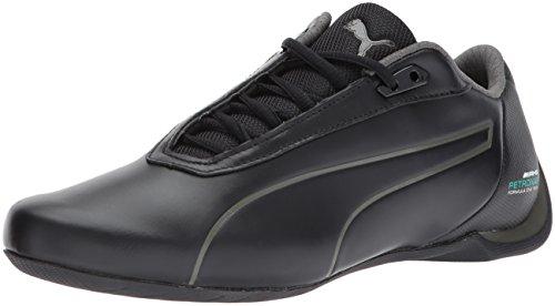 PUMA Men's MAMGP Future Cat Sneaker, Black-Dark Shadow, 12 M US (Puma Dark Shadow Black)