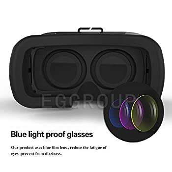 Mocei 3D Virtual Reality Video Movie Game Glasses VR Case for Samsung Galaxy S9 Note 8 for Samsung Galaxy S8 S8 Plus