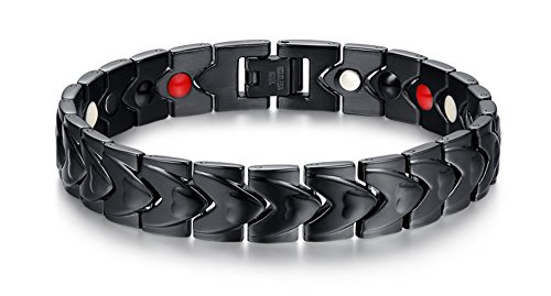 VNOX Fashion Stainless Magnetic Bracelet