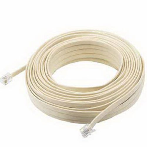 AUDIOVOX TP443N 50' ALM MOD Line - Almond Line Cord