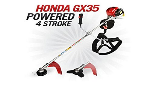 in 1 Brush cutter with Gx35 Engine 4 strokes Whipper Snipper Trimmer Tree Pruner ()