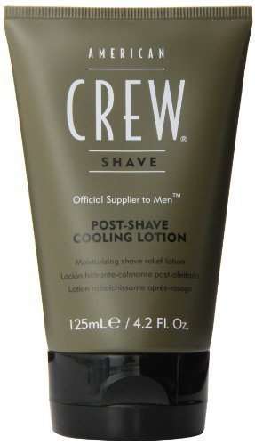 Post Shave Cooling Lotion Men After Shave by American Crew, 4.23 Ounce by American Crew by AMERICAN CREW
