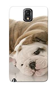 New Flyave-3912-mxuysgn Dogs Bulldog Puppy Animals Tpu Cover Case For Galaxy Note 3 - Best Gift Choice For Christmas