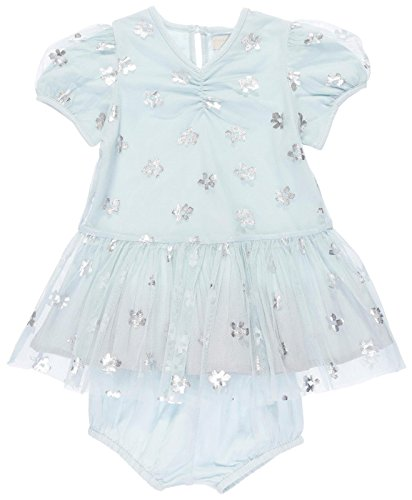Stella McCartney Kids Baby Girls' Missy Tulle Dress, Mint Blue, 36M by Stella McCartney Kids
