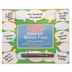 Autograph Memory Frame - Melissa & Doug Conversation Autograph Memory Frame