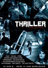 Thriller Collection - 10-DVD Box Set ( Trust / The Box / Stone / Beyond a Reasonable Doubt / Daybreakers / The Black Dahlia / The Disappearance of A [ NON-USA FORMAT, PAL, Reg.2 Import - Netherlands ] (Daybreakers Dvd)