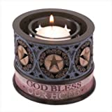 Heartstone Blessing Faith Votive Candle Holder Stand